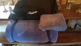 Tempur single mattress & pillow