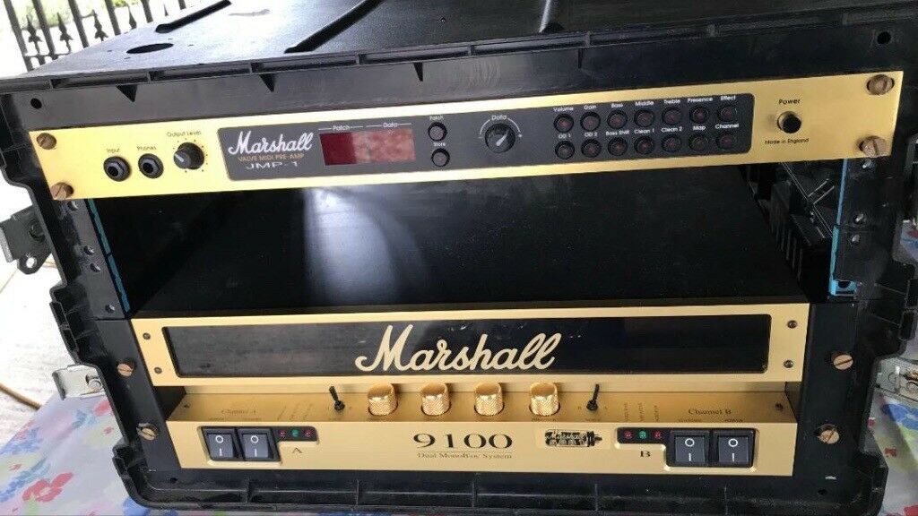Marshall 9100 Dual Bloc Valve Amplifier and Marshall JMP-1 Midi Valve  Pre-Amp | in Chelmsford, Essex | Gumtree