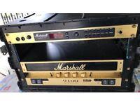 Marshall 9100 Dual Bloc Valve Amplifier and Marshall JMP-1 Midi Valve Pre-Amp