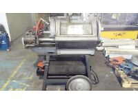 Rigid 1224 pipe threading machine 110power foot pedal operated