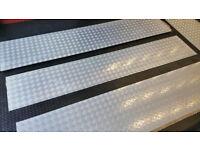 Aluminium Tread Chequer 8 x 2450 x 450