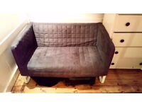 Grey Ikea Knopparp Sofa As New