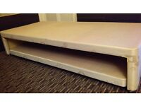 3FT SINGLE PULL OUT TRUNDLE DIVAN GUEST BED WITHOUT MATTRESSES