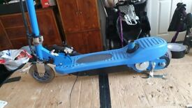 Electric stand on (24 volt) child's e- scooter (in blue)