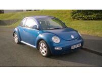 VW New Beetle 2003 2.0l