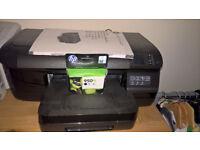 hp office jet pro 8100 & hp laser bw printer 1018 laserjet.