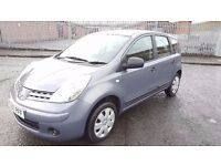 2007 Nissan Note VISIA MPV 1.4 Petrol 8 Month MOT FSH 69000 Miles Only Immaculate Condition..