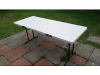 OUTDOOR FOLDABLE TABLE, 6 FOOT, LIFETIME