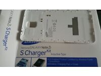 Note 3 Wireless Charging S Cover White