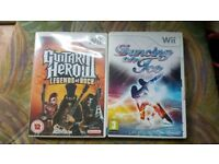 Guitar hero Wii game dancing on ice Wii game