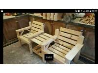 Garden benches , chairs, planters and tables