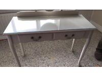 Ladies dressing table & stool