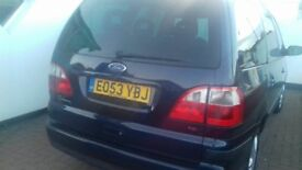 Ford galaxy 1.9 tdci, lovely family car, great runner, starts on the button, service history