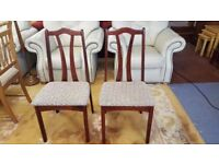 2X Vintage Chairs in Great Condition