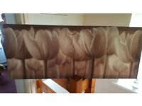 Tulip Canvas Style Picture 22.5 x 55 inches