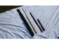 Three piece snooker cue