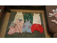 9-12 months baby girl clothes joblot.