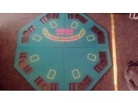 Poker Table and 500 Piece Poker Chip Set