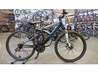 BARRACUDA PHOENIX BIKE 26 INCH WHEELS 21 SPEED FULL SUSPENSION FRONT DISC BRAKE GOOD CONDITION