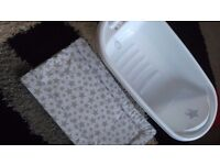 Baby bath and changing mat