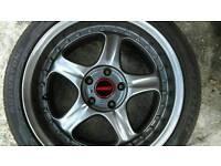 Rays alloy wheels 5x114.3 Toyota Mr2 Honda lexus