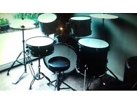 DRUM KIT. Full adult Drum Kit. Excellent Condition.