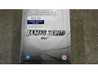 James Bond 007 box set. Brand new and unopened.