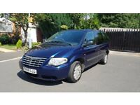 2006 56 REG FACELIFT CHRYSLER VOYAGER 2.5 CRD SE MANUAL 7 SEATER DVD PLAYER ALLOYS 11 MONTHS MOT