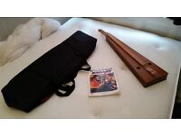 Dulcimer - interesting, sweet-sounding, & easy to play - Comes with carry case and book