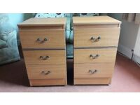 Matching Bedside Cabinets