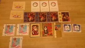 17 NEW packs of unopened christmas cards 75p each or discount for all