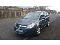 2008 Vauxhall Zafira nice 7 seater family car with one year MOT