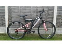 Ladies silverfox mountain bike