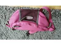 Jeep pink bum bag