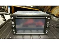 Double din dvd stereo with reverse camera