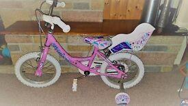 14'' Princess Bike bicycle £65 RRP 89