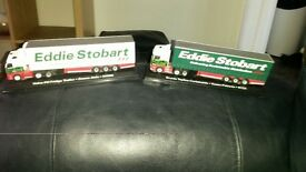 2 Eddie Stobart model lorries
