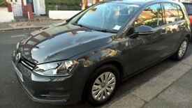 VOLKSWAGEN GOLF 2013 Petrol 1.2L TSI BLUEMOTION TECHN 1 year road tax £30 E