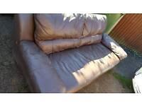 Cheap leather sofa