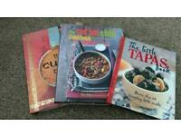 3 recipe books