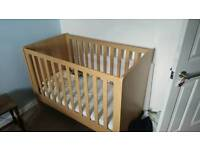Mama's and Papa's Alten Cot, wardrobe and cupboard/change table