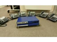Intertel hybrid business phone system