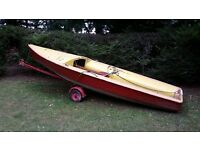 Ponant sailing dinghy boat