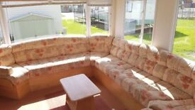 BARGAIN £9995 REDUCED CHEAP STATIC SITE FEES INCLUDED NORTH SHORE HOLIDAY PARK SKEGNESS' COASTFIELDS