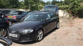 2013 (63 Reg) Audi A4 Avant 2.0tdi Ultra 5dr UNRECORDED