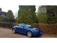 2000 AUDI TT 1.8 TURBO 225 BHP BLUE NATIONWIDE DELIVERY, WARRANTY, MINIMUM £200 PART EX, BARGAIN