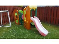 Little Tikes outdoor playset, slide, tunnel, climbing frame
