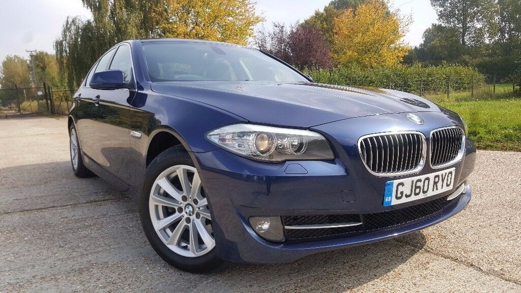 2010 BMW 5 Series Saloon F10 520d SE Auto 4dr 1 Owner Full BMW Service History New MOT HPI Clear