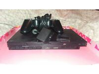 Slim playstation 2 with one controller, 8GB memory card and 16 games