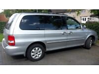 7 seater with DVD and electronic driver seat low mileage